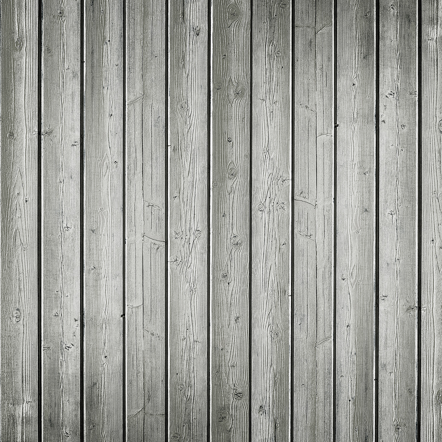 Narrow Planks Matte Vinyl Backdrop (3.5' x 3.5') - Light Gray