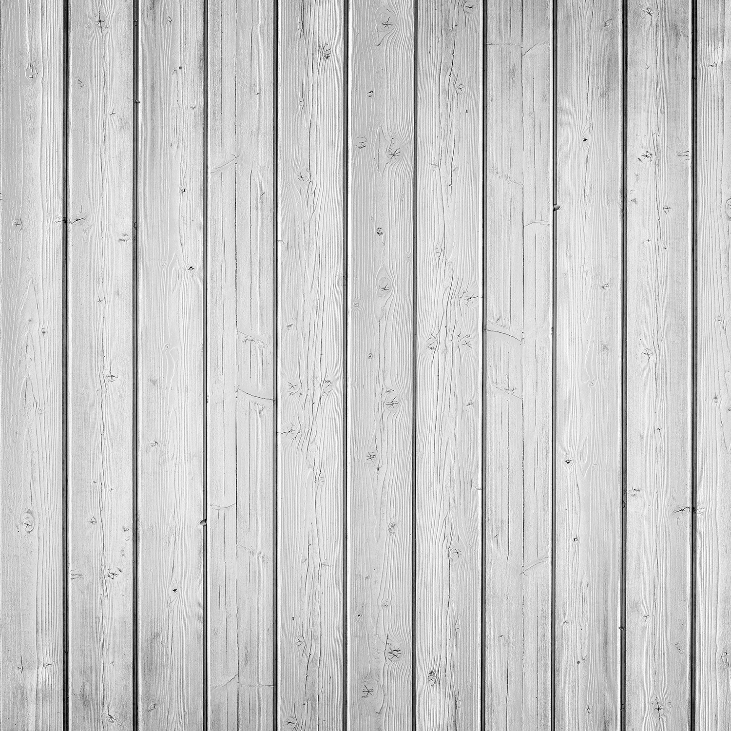 Narrow Planks Matte Vinyl Backdrop (3.5' x 3.5') -  Fresh White