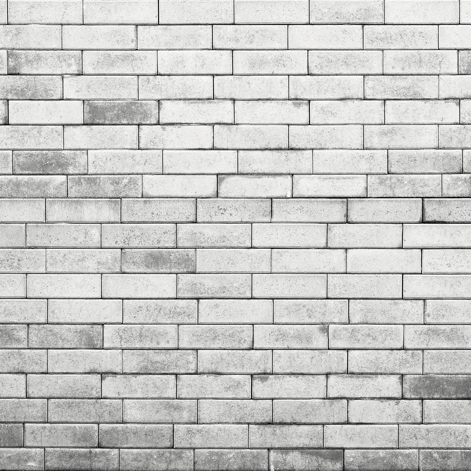 Brick Wall Matte Vinyl Backdrop (3.5' x 3.5') - Gray