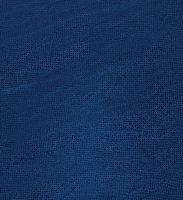 Hand-painted navy blue muslin backdrop