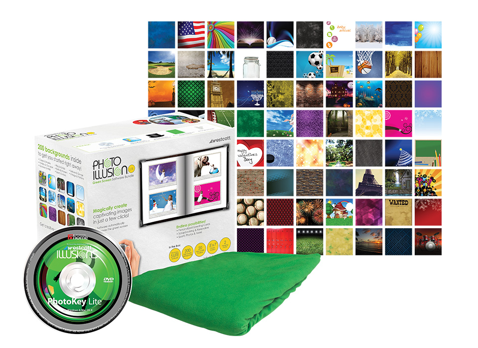 Green Screen photography bundle