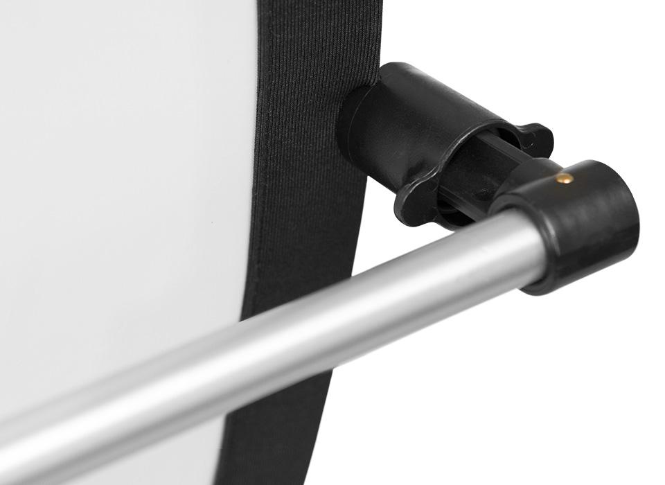 Illuminator reflector mounting arm clamps