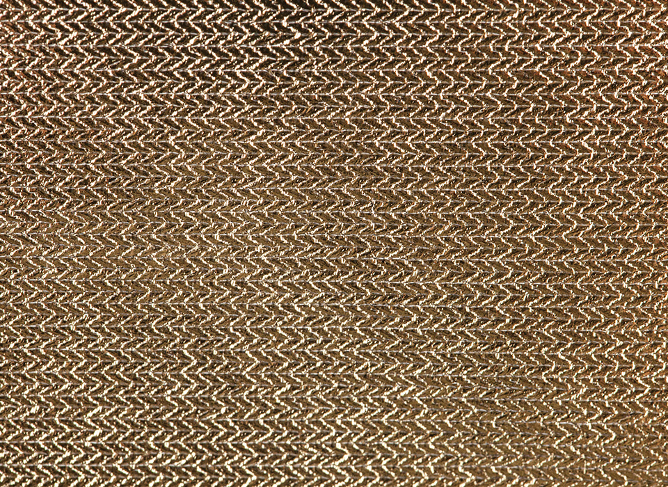 Reflective gold bounce fabric