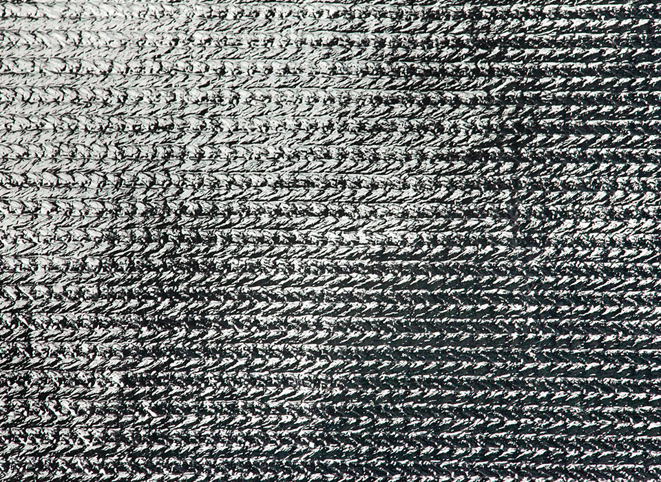Silver reflective bounce fabric