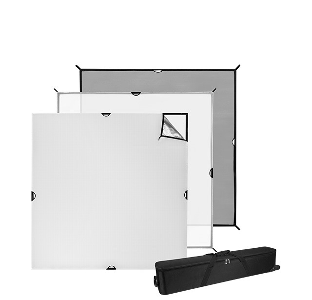 6x6 foot Scrim Jim Cine Kit