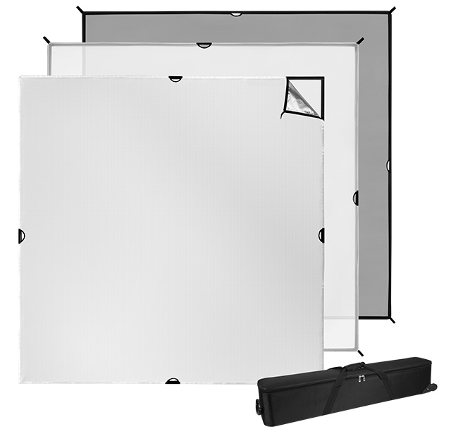 8x8 foot Scrim Jim Cine Kit