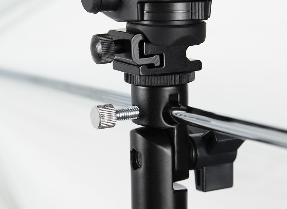 Adjustable bracket with umbrella mount built-in