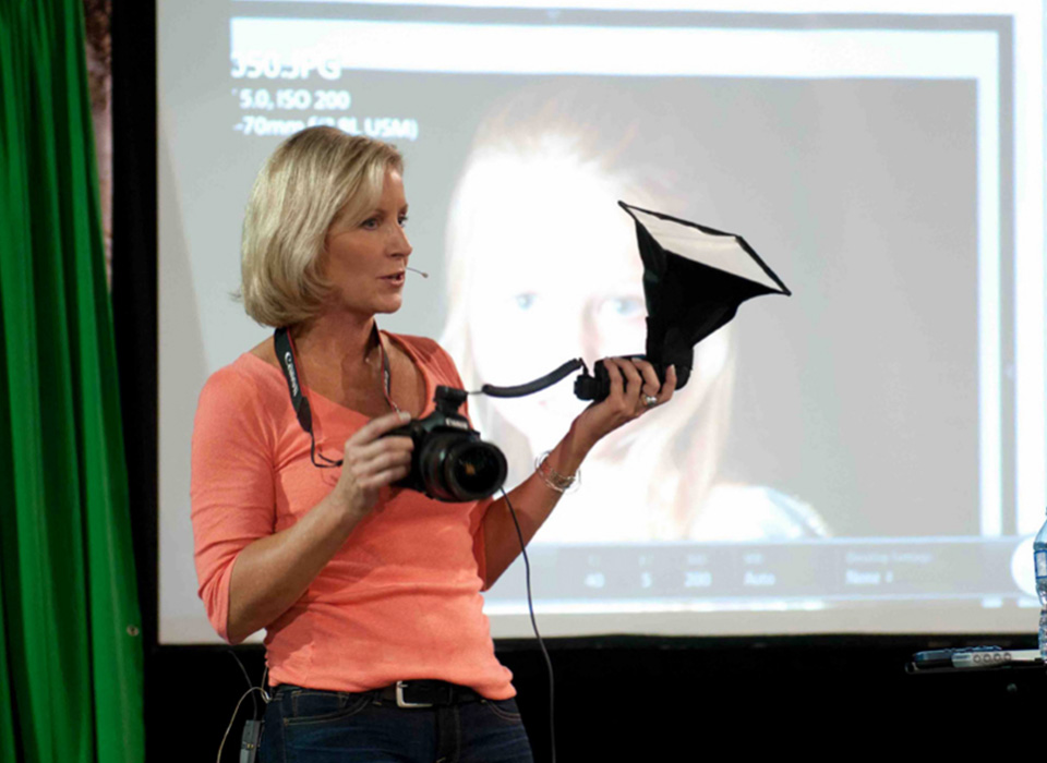 Erin Manning teaching photo education