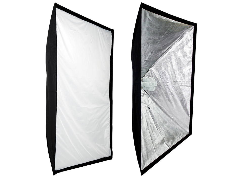 Shallow softboxes