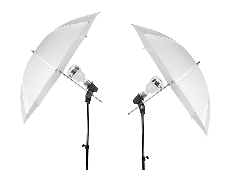 Basics LED Umbrella Continuous Light Kit