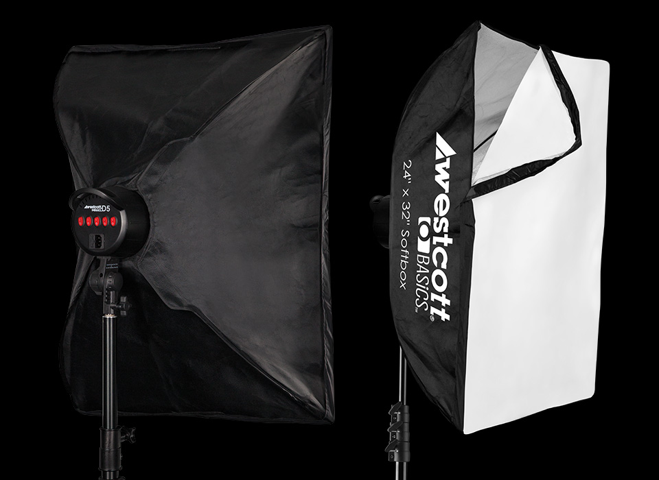 24x32-inch D5 softboxes