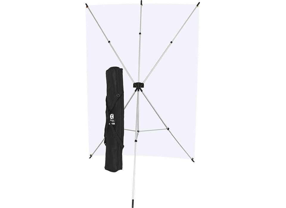 X-Drop portable collapsible backdrop included