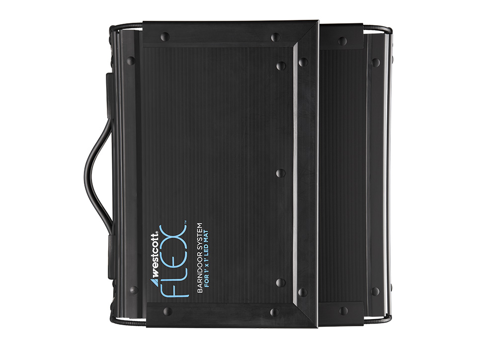 Flex Barndoors double as a protective carry case