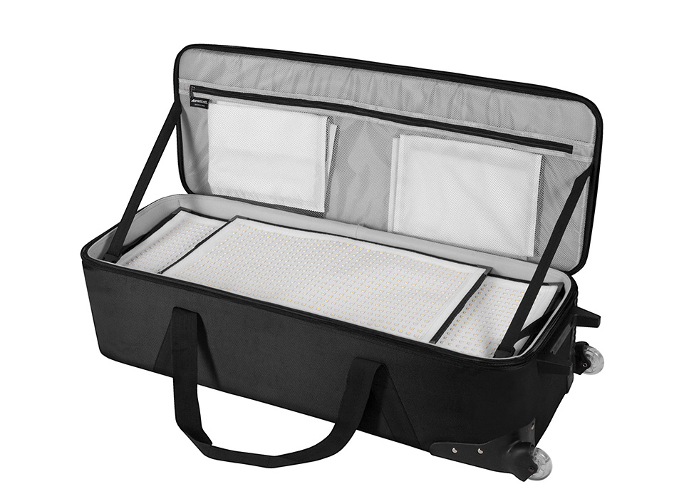 Peter Hurley Flex Kit travel case with components inside