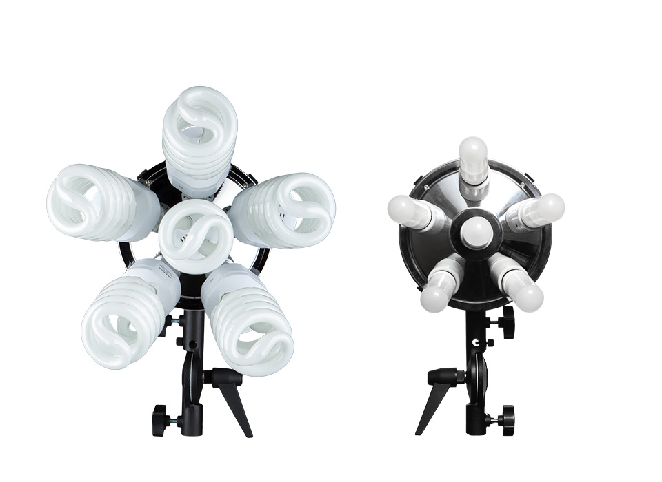 Spiderlite TD6 light heads, kits, lamps, and accessories