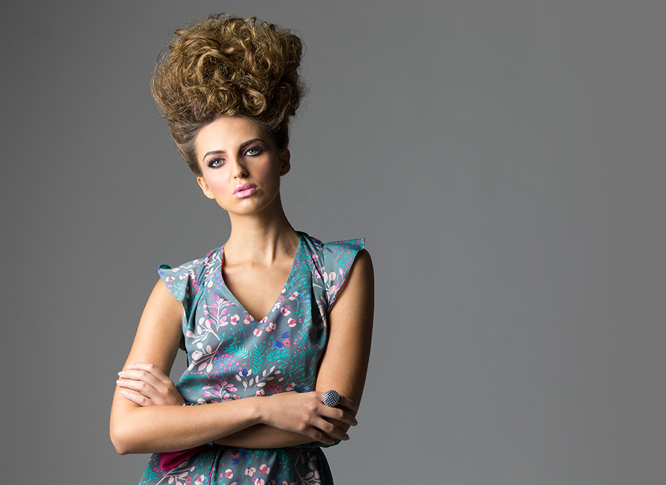 Fashion portrait shot by Scott Kelby using Spiderlite TD6 Kit