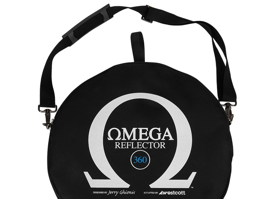 Reflector with removable center panel